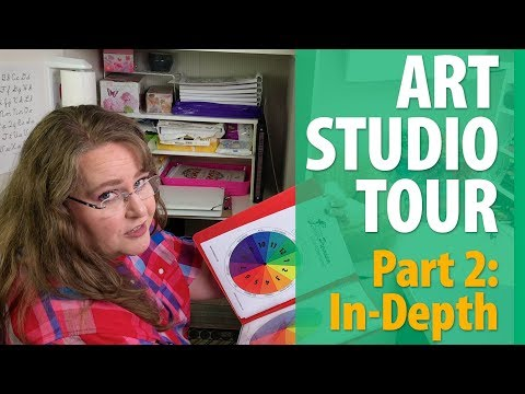 Art Studio Tour 2018 (Part 2: In-Depth Look)