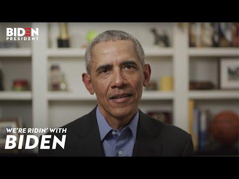 President Barack Obama Endorses Joe Biden For President