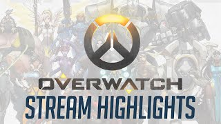Overwatch Stream Highlights ft. Jesse Cox, Crendor, Strippin and more [Strong Language]