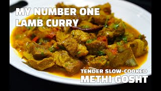 Lamb Curry - Methi Gosht - How to Make Lamb Curry - Youtube