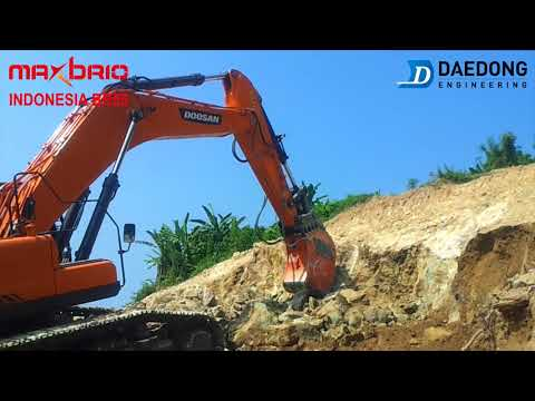 Maxbrio Ripper BR55  Doosan DX500 Indonesia
