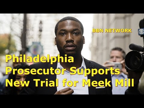 Philadelphia Prosecutor Supports New Trial for Meek Mill