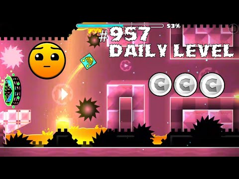 DAILY LEVEL #957 Geometry Dash 2.11 el nivel AROMA