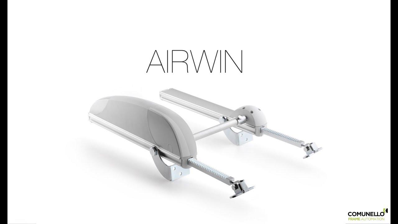 Airwin Attuatore Elettrico A Cremagliera Comunello Frame Automation