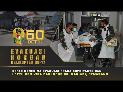 Proses Evakuasi Praka Supriyanto ke RSPAD Menggunakan Helikopter Puspenerbad | 60