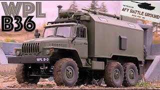 WPL B36 Military Truck in Scale Town - RC CWR