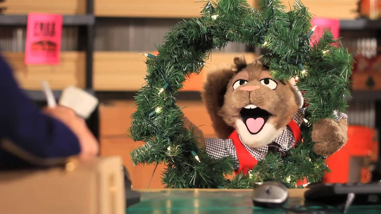 Sid The Squirrel Crabtree Furniture Christmas Commercial