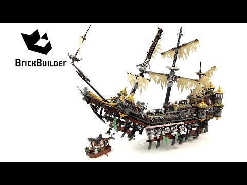 Lego Pirates of the Caribbean 71042 Silent Mary - Lego Speed Build