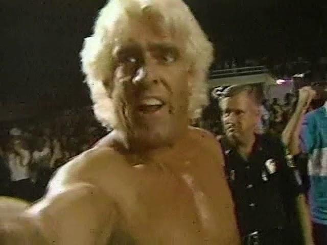 NWA - Dusty Rhodes vs. Ric Flair 8/23/1986