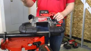Milwaukee® Cordless M18 Fuel™ Deep Cut Band Saw (2729-22) Outperforms Corded