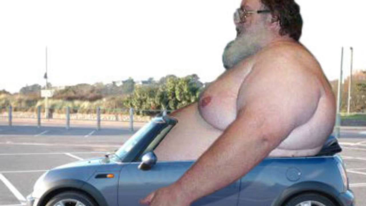 Fat In Car 49