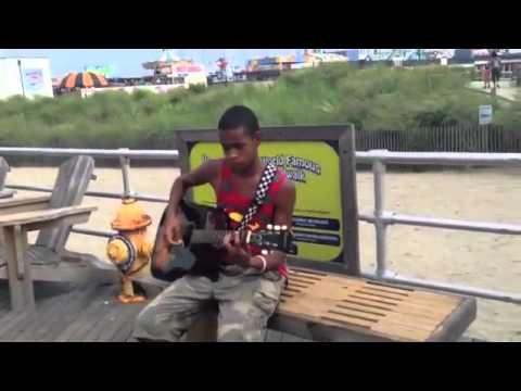 Atlantic City Street Performer