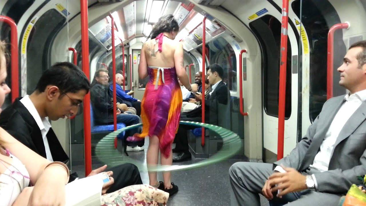 Girl In The Tube