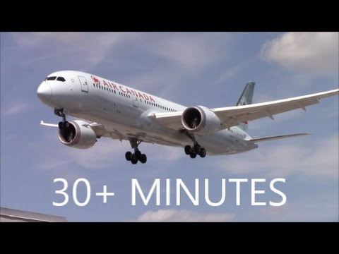 30+ MINUTES OF PLANE SPOTTING AT TORONTO PEARSON AIRPORT (YYZ)