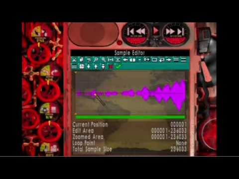Sampling on a PS2 with Music Generator 2
