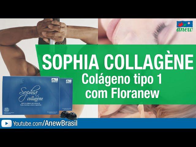 Sophia Collagene - Colágeno Tipo 1 Com Floranew