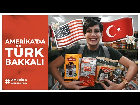 A TURKISH GROCERY IN AMERICA - Is it possible to settle in America without knowing any English?
