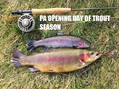 Pa opening day of trout season 2017 youtube for Free fishing day 2017 pa
