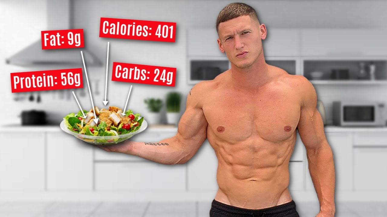 My full diet to get SHREDDED *2,500 calorie bodybuilder fat loss diet*