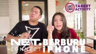 """Video Emon dan Ina Juga Ikutan NET Connect """"Berburu iPhone"""" download MP3, 3GP, MP4, WEBM, AVI, FLV Oktober 2017"""