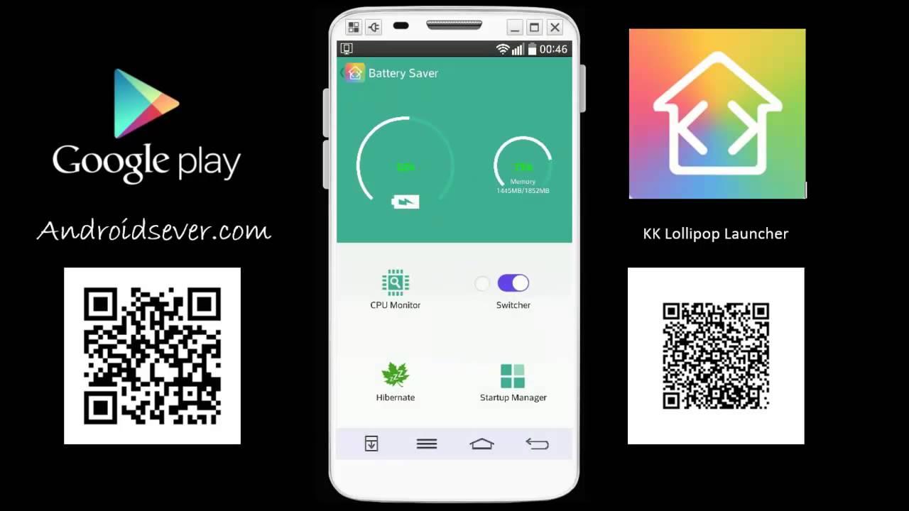 Android Lollipop Launcher - KK Launcher