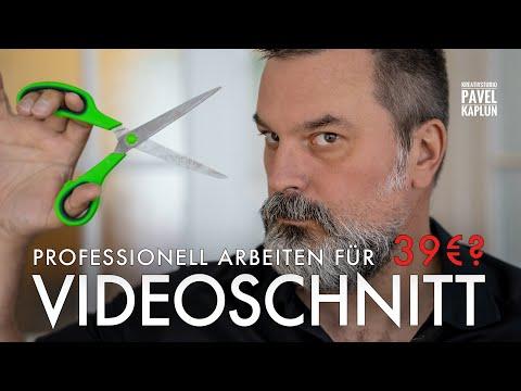 Professioneller Videoschnitt ab