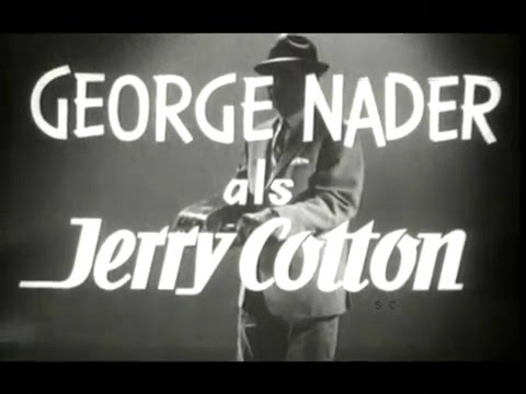 """Jerry Cotton - """"The Violn Case Murders"""" aka: """"Operation Hurricane Friday Noon"""""""