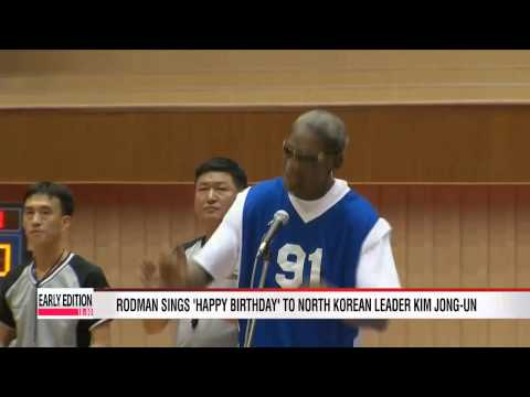 Rodman apologizes for outburst during CNN interview this week