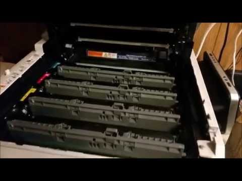How to Repair Brother Color Laser / LED Printer. Blank ,light pages