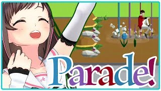 【PARADE!】動物さんたちと楽しく行進だーー!ლ( ́ڡ`ლ)【Indie Games Festival 2018】
