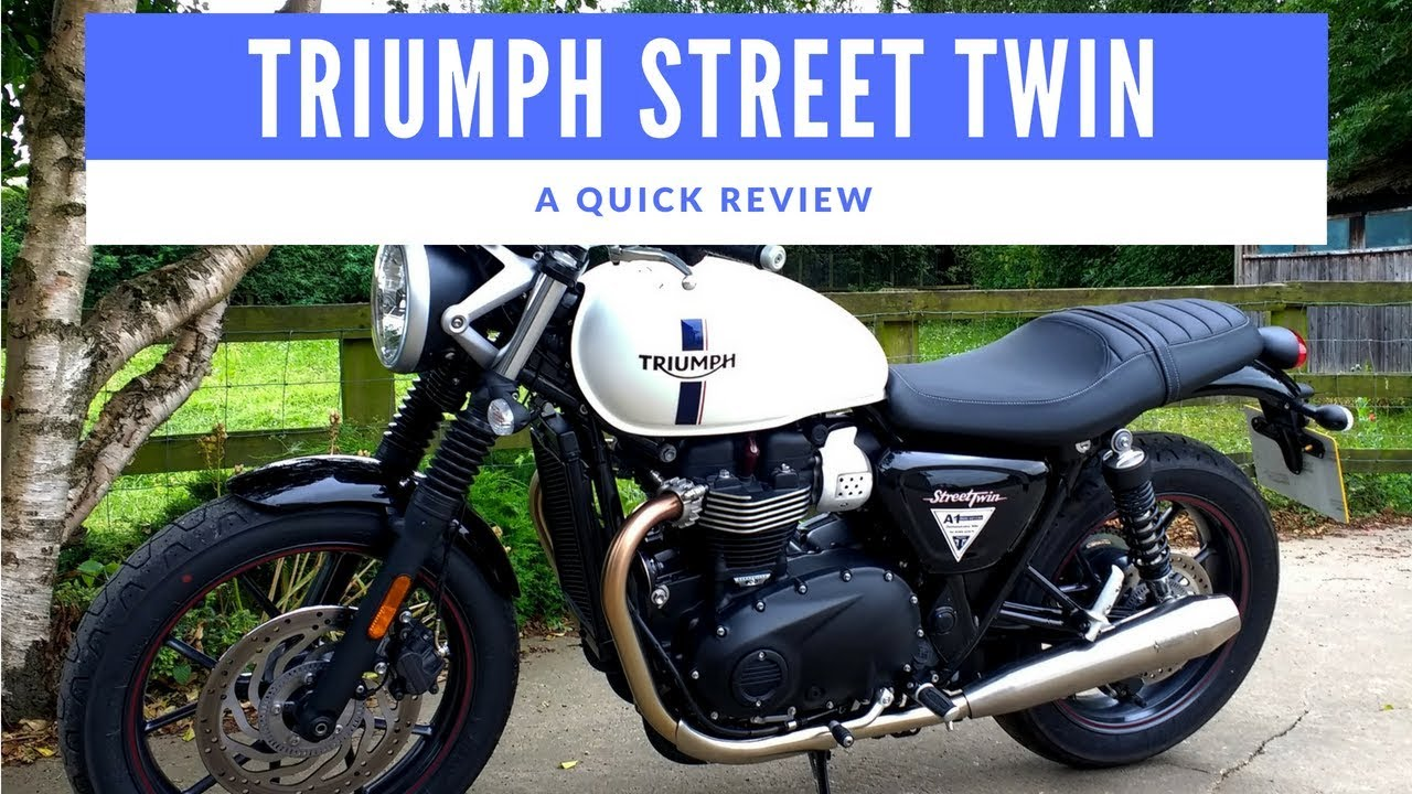 2018 Triumph Street Twin Motorcycle Review Fitted With Vance And