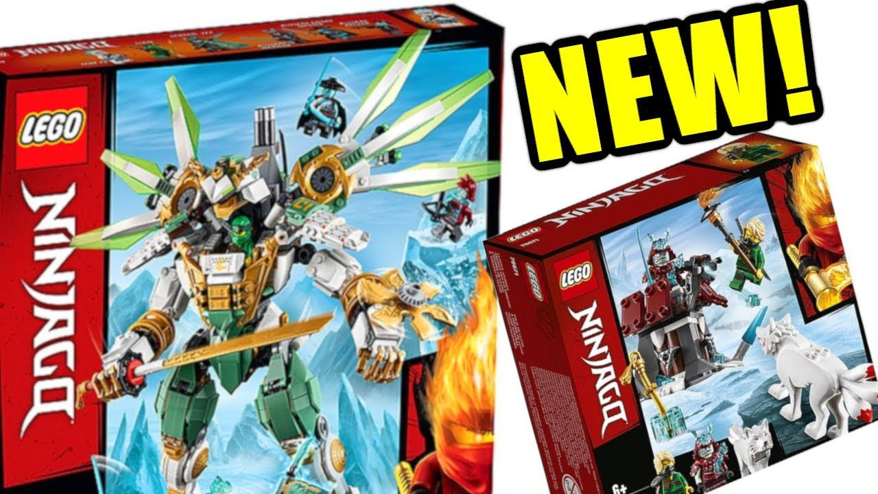 New Lego Ninjago Summer 2019 Set Pictures My Thoughts Youtube