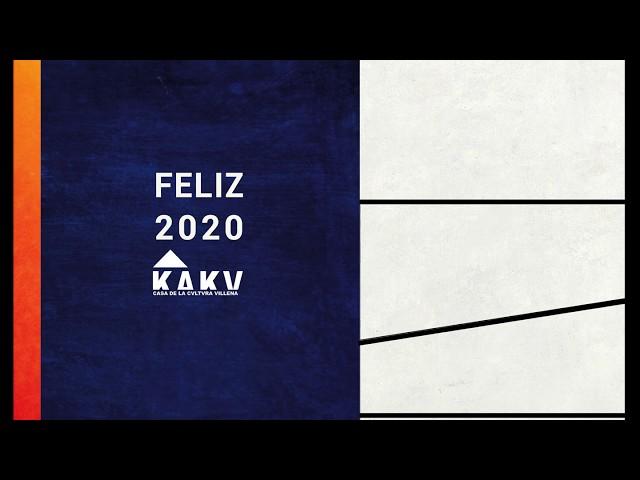 KAKV Villena, os desea un feliz 2020