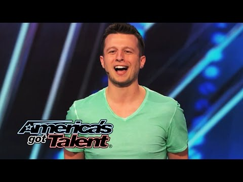 Mat Franco Self-Taught Magician Tells Surprising Story With Cards - Americas Got Talent 2014