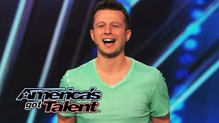 Mat Franco: Self-Taught Magician Tells Surprising Story With Cards - America's Got Talent 2014 thumbnail