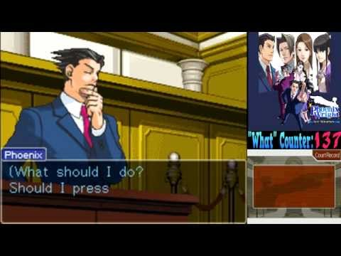 Phoenix Wright T&T Case 3, Part 6: You know IN THE COURTHOUSE