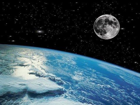 Imgenes inditas de la rotacin de la Luna alrededor de la Tierra