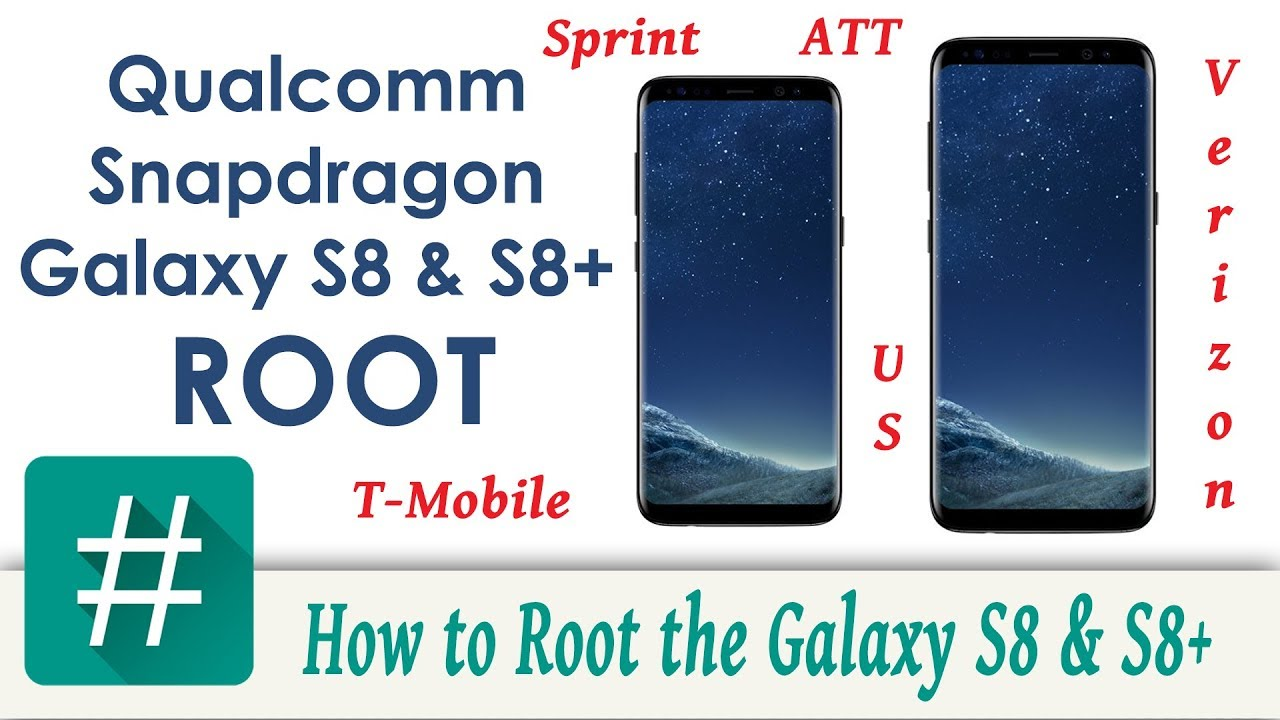 Root for all snapdragon s8 and s8+ | Samsung Galaxy S8+