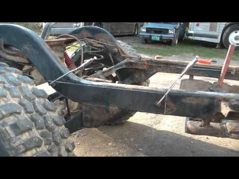 TJ Jeep project V8 swap 6 (frame repair)
