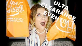 $500 Worth Of Makeup For $70!!! ULTA CLEARANCE EVENT! INSIDER SECRETS!