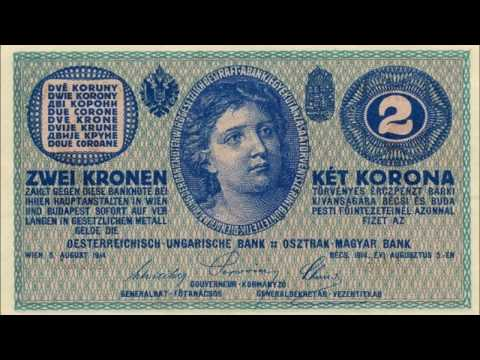 BANKNOTES AUSTRO HUNGARIAN EMPIRE 1914-1915 ISSUE