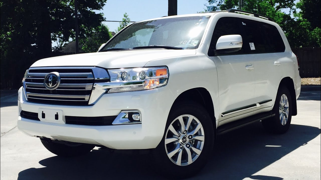 2016 Toyota Land Cruiser Full Review Start Up Exhaust Short Drive