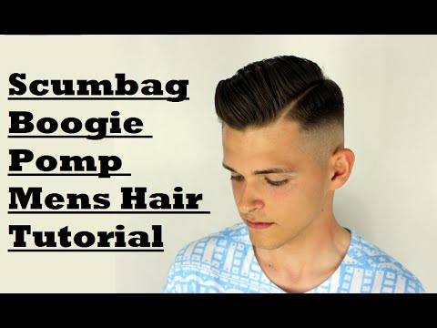 SKIN FADE SIDE PART POMPADOUR