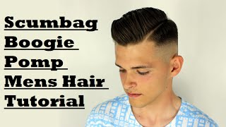 Side part skin fade with hard part Mens How To Hair Tutorial Kieron The