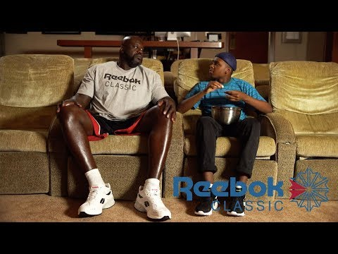 Shaq and Jay Versace Explore 90s Style Today with Reebok Classic