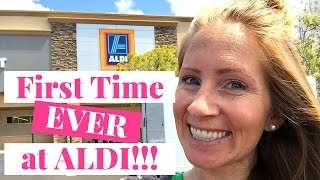 My First ALDI Shopping Trip EVER!