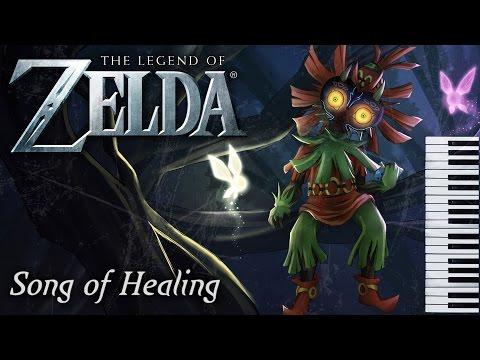 Legend of Zelda - Song of Healing (Majora's Mask) Piano Cover