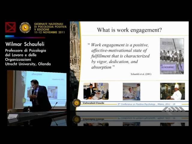 Schaufeli - Work Engagement 2