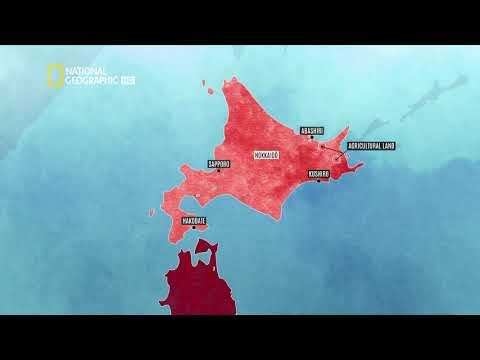 Япония: Между земята