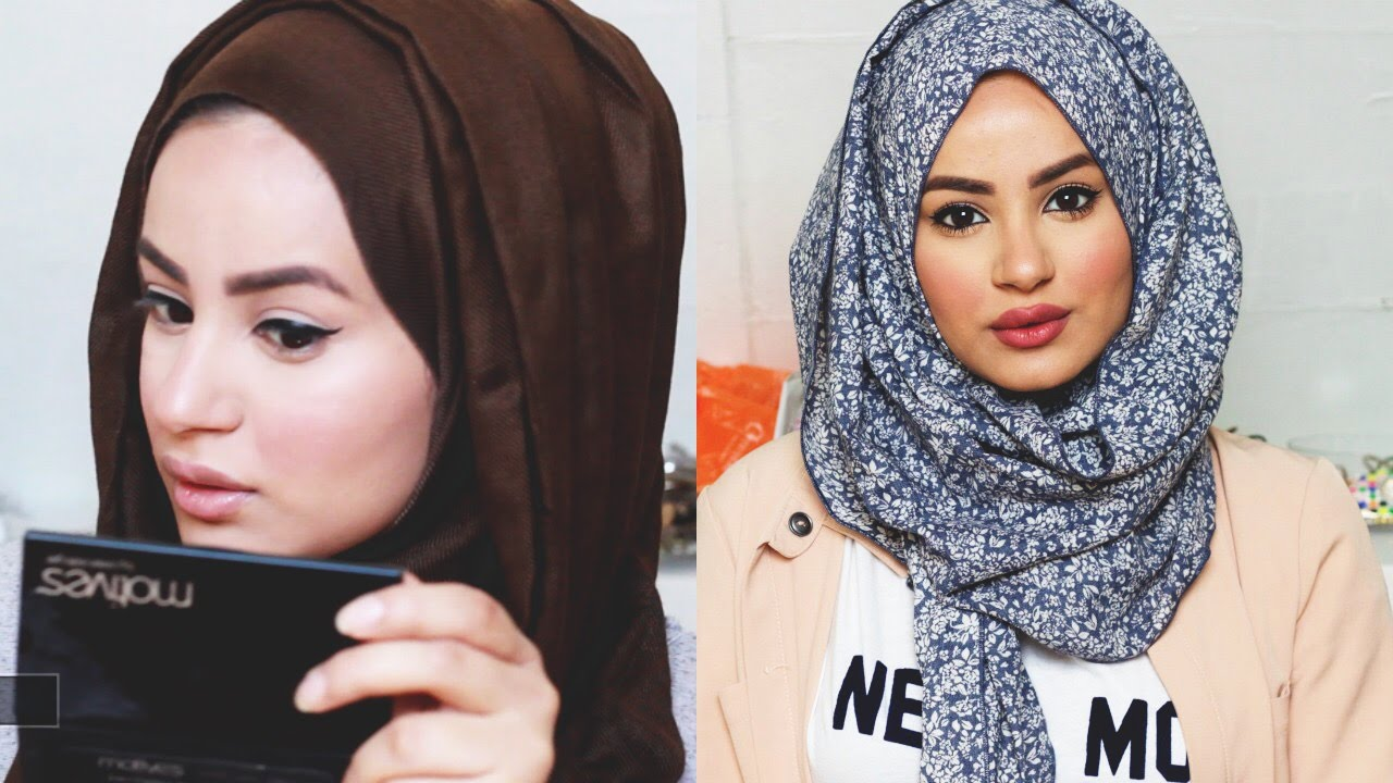 Get Ready With Me Make Up Tutorial Hijab Tutorial Outfit Of